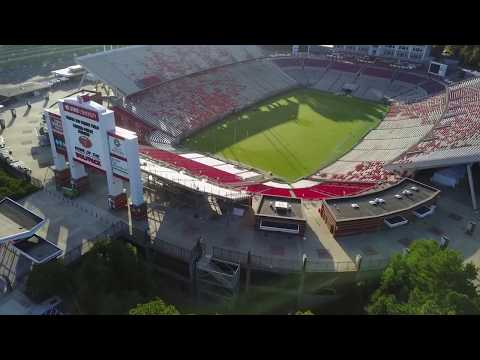 Carter–Finley Stadium - Raleigh NC - Home of the Wolf Pack.