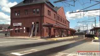 Trains at New London, Shaw