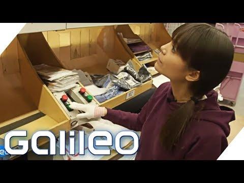 Selbstexperiment: Arbeiten in der größten Packstation Europas | Galileo | ProSieben