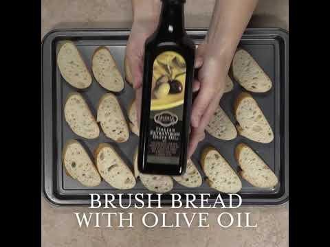 Download Olive and fetta brushetta
