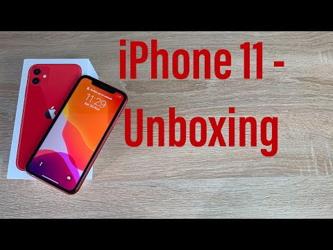 IPhone 11 Product RED Unboxing And First Look