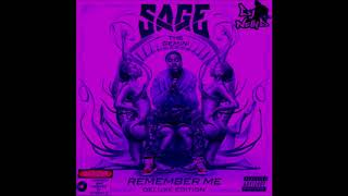 Sage The Gemini - College Drop (ft. Kool John) [Screwed and Chopped by DJ Nelly D]