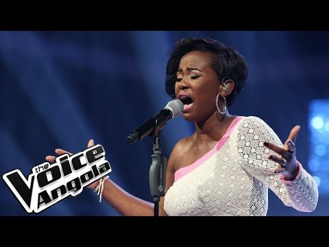 """Mariedne Feliciano canta """"Hero"""" / The Voice Angola 2015 / Gala"""