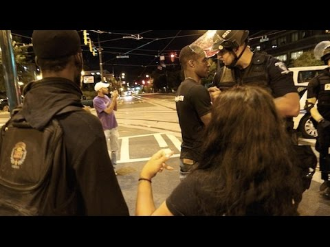 Free Hugs Charlotte North Carolina Riots