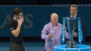 Moet Moment Murray Wins London Finale 2016 Title