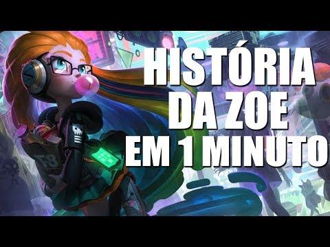 CONTANDO A HISTÓRIA DA ZOE EM 1 MINUTO
