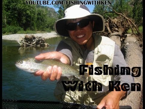 Stanislaus River Fishing|Kennedy Meadows|Clark Fork|Beardsley Afterbay|July 2012