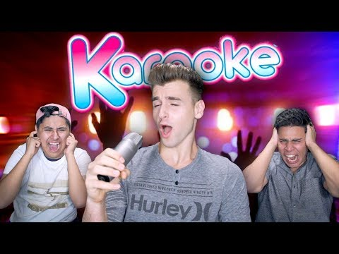 Karaoke Madness! (RIP Headphone Users)