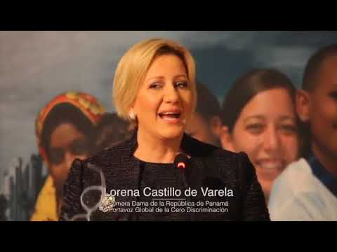 Panama First Lady at the GNRC 5th Forum - in Spanish