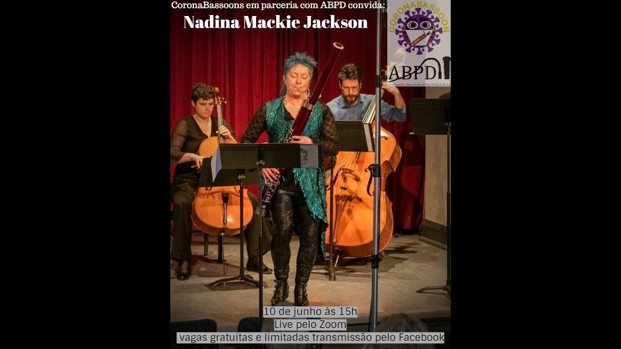 Live com a professora Nadina Mackie Jackson