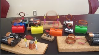 Simple motors experiments //// Homemade Science with Bruce Yeany