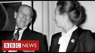Prince Philip:  Princess Anne, Prince Andrew and Prince Edward speak of their loss - BBC News