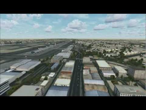 FlyTampa Dubai : Traffic around the Airport