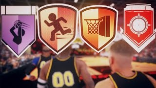 NBA 2K17 - THE NON-UPGRADEABLE BADGES YOU NEED TO GET IN MYCAREER/MYPARK/PRO-AM!!!
