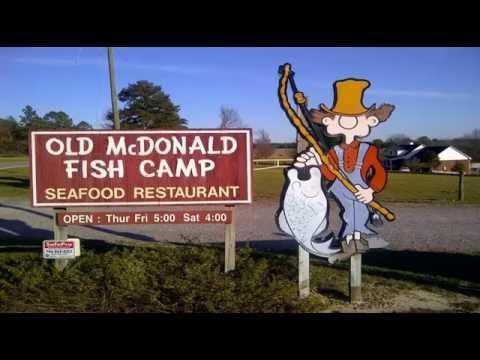 Augusta GA Local Favorite Seafood Restaurant Is Old McDonalds Fish Camp - North Augusta SC