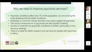 Launch of SUCCEED Africa: Inclusive mental health research and care