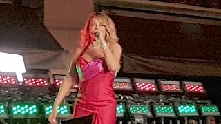 Mariah Carey First Official Holiday Appearance Since Split | Splash News TV