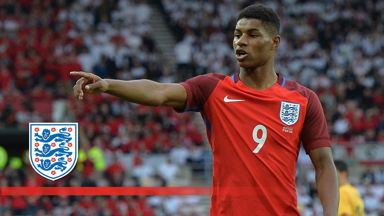 Image result for Marcus Rashford - england