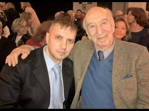 Giuliano Montaldo racconta Alberto Sordi nel teatro cinema della villa di Albertone - 20/04/2018