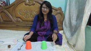 Ektu darabe ki || Habib Wahid||  Covered by Abanti Sithi ( Whistle queen) with cups