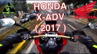 HONDA X ADV 2017 İlk İzlenim, Motovlog