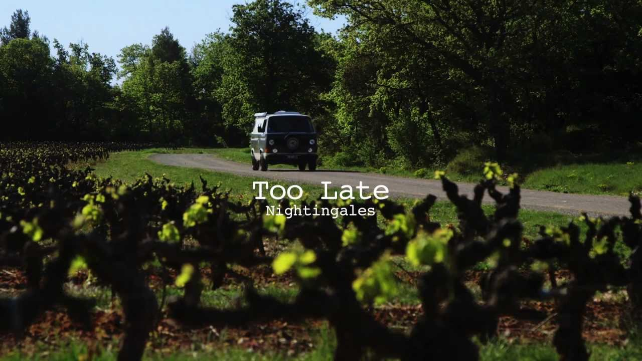 Les Nightingales - Too Late (Official video) - YouTube