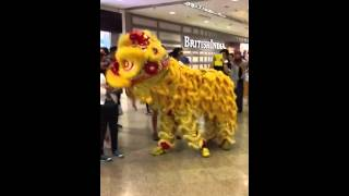 CNY Lion Dance in Mid Valley Mega Mall @KL Malaysia