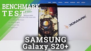 BENCHAMRK on SAMSUNG Galaxy S20+ - 3DMARK Benchmark Test