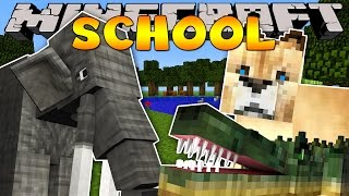 Minecraft School : TAKING A TRIP TO THE ZOO!
