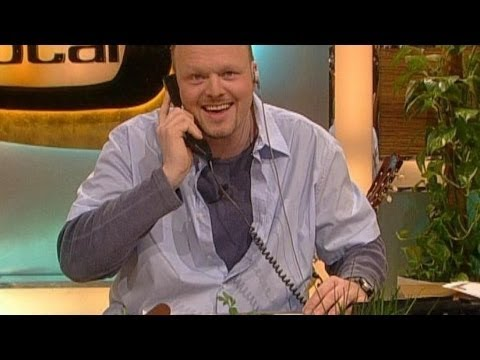 The worsest Pizza DeryService  Stefan Raab orders Pizza  TV total