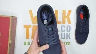Vans Atwood 12oz Canvas - Navy / Gum - Walktall | Unboxing | Hands on