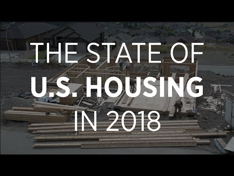 What is the state of U.S. housing in 2018?