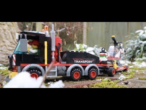 LEGO Heavy Cargo Transport 60183 time lapse build 🚚