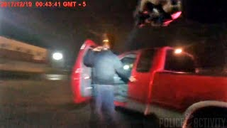 Suspect Pulls Cop Into Choke Hold And Drags Him During Traffic Stop