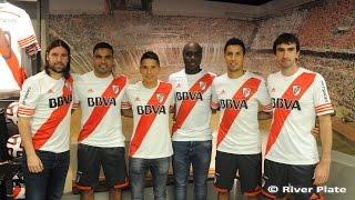 River presentó su nueva camiseta 2014/2015
