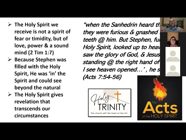 Pentecost Bible Study: The Acts of the Holy Spirit: Session 3