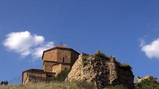 Грузия. Монастырь Джвари. Канатная дорога Тбилиси. Вечерний Тбилиси. Мост Дружбы. Арагви и Кура