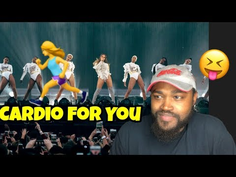 Beyonce - MINE - BABY BOY - HOLD UP- COUNTDOWN - POP MY TRUNK Formation Tour (Reaction)