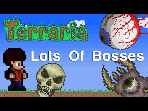 Terraria Xbox - Lots Of Bosses [109]