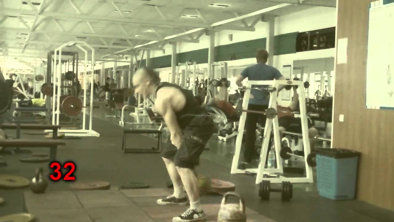 Old Time Strong Man - Kettlebell's Training