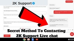 How To Live Chat With 2K Support | Hidden Live Chat NBA 2K19 | Get Free MT MyTeam!