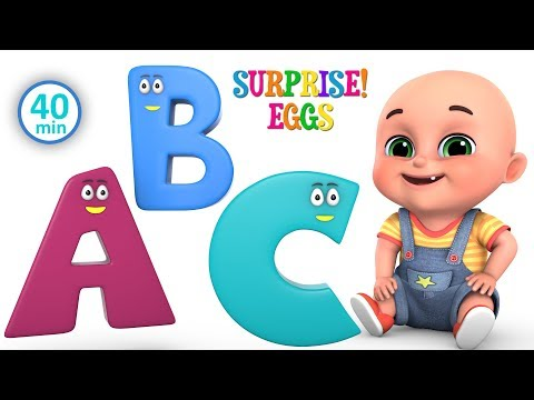 abcd animals rhymes for children | Learn ABCD for kids | kindergarten baby songs by jugnu kids