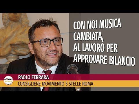 Paolo Ferrara (M5S Roma): con noi musica cambiata, al lavoro per approvare bilancio