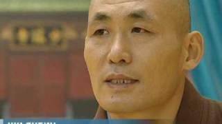 Единственный в столице Шаолиньский монах.