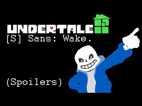[S] Sans: Wake. (Undertale x Homestuck animation)