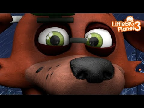 LittleBIGPlanet 3 - Five Nights at Freddy's DEATHRUN [MRSELFDESTRUCTTK] - PS4 - 동영상