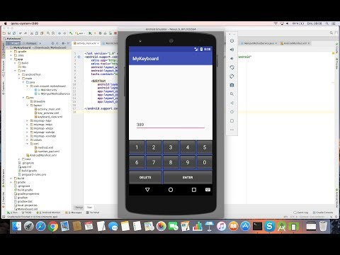 Learn to create a System Keyboard on Android – All for