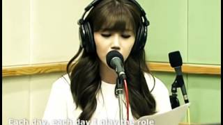 Jeong Eunji Run To You (Whitney Houston Cover)