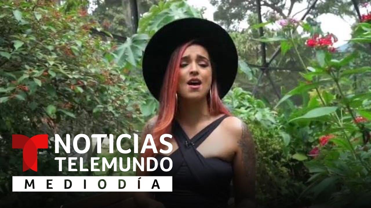 Ganadora de La Voz ayuda a la conservación de mariposas | Noticias Telemundo
