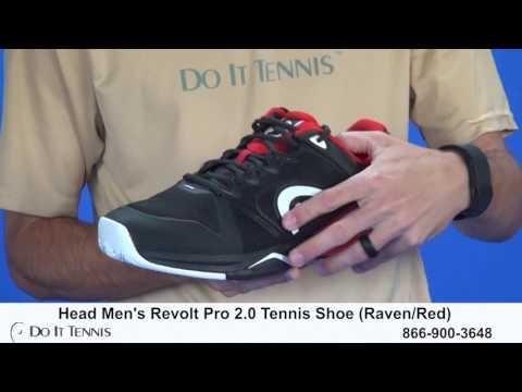 2e3bc71eb241e Head Men s Revolt Pro 2 0 Tennis Shoes - YouTube